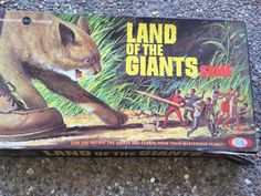 1968 Ideal Land of The Giants Board Game 2275 6 Box and Gameboard Only | eBay