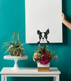 How To Make A Dog Painting on Canvas