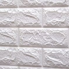 Peel & Stick - Brick Wall Stickers - Peel & Stick – Brick Wall Stickers Easy to apply, Waterproof and easy to clean. Just Pee - Faux Brick Wall Panels, Brick Wall Paneling, Faux Brick Walls, Decorative Wall Panels, Brick Tiles, 3d Wall Panels, Home Room Design, Home Interior Design, 3d Wallpaper Tiles