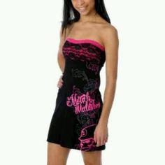 Black and pink metal mulisha dress..i looooove it