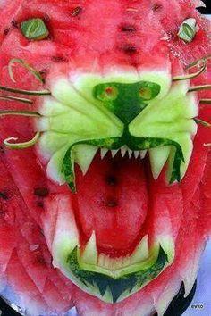 Mean ole lion
