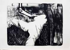 david lynch lithographs at idem paris