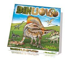 DinUovo - I miei figli si sono impazziti per questo gioco! Perfetto per futuri paleontologi! Creativamente 251 - Gioco in Scatola Dinuovo La Battaglia dei Dinosauri