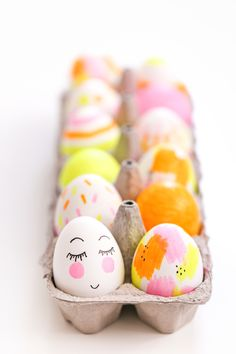 Highlighter Easter Eggs // Salty Canary