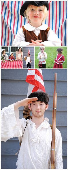 1776 themed 4th of July Reunion