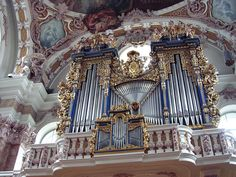 Baroque organ, St. Jacob's Cathedral, Innsbruck