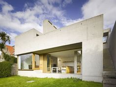 * Residential Architecture: Recasting House by Donaghy & Dimond Architects Residential Architecture, Contemporary Architecture, Architecture Details, Interior Architecture, Houses In Ireland, Ireland Homes, Building Exterior, Building A House, Dublin House