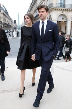 Olivia Palermo & Johannes Huebl l Stylish Couples Estilo Olivia Palermo, Look Olivia Palermo, Classy Couple, Stylish Couple, Street Style Inspiration, Johannes Huebl, Best Street Style, Fashion Models, Fashion Outfits