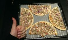 Want to cook two pizzas at once? Here's how to get both to fit. | 33 Essential Life Hacks Everyone Should Know About