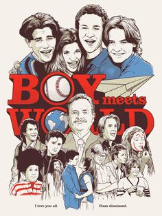 Boy Meets World; can't wait for girl meets world to premiere
