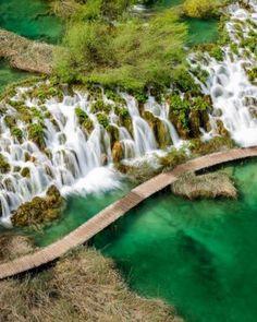 Plitvice Lakes, Croatia :