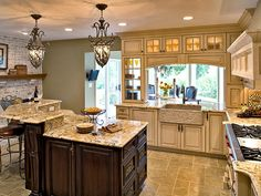 classic kitchen with upgrades