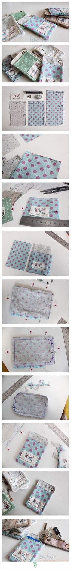 could this be superglued or stitched by one person on a sewing machine? DIY Fabric Pouch diy craft crafts craft ideas easy crafts diy ideas diy crafts sewing easy diy home crafts diy sewing sewing crafts storage crafts Sewing Hacks, Sewing Tutorials, Sewing Patterns, Diy Couture, Couture Sewing, Fabric Crafts, Sewing Crafts, Sewing Projects, Diy Fabric Pouches