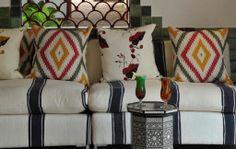 African decor at Victoria Falls Hotel Victoria Falls, African, Throw Pillows, Decor, Toss Pillows, Decoration, Cushions, Decorative Pillows, Decorating