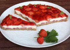 Tvarohový koláč s jahodami, recepty, Koláče | Tortyodmamy.sk