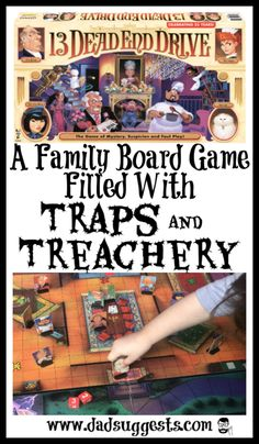 The classic family board game returns. 13 Dead End Drive is a family board game that captures the im Couples Game Night, Board Games For Couples, Family Board Games, Fun Board Games, Couple Games, Family Game Night, Dungeons And Dragons, Game Night Decorations, Spooky Games
