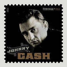 Johnny Cash Forever Stamp