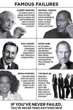 Never give up on anything quotes Oprah winphrey the Beatles steve jobs walt Disney Michael Jordan and Albert Einstein