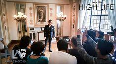 El encantador @pacodemaria deleitando miradas en conferencia de prensa en el #TeatroDeLaCiudad. #HLAmbassadors