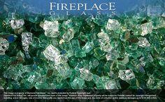 Emerald Bay Premixed Diamond Fireplace Glass
