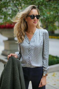 how to wear: blouse | The Classy Cubicle: October 2014