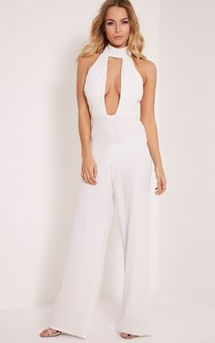 f89045775ce Awesome White Jumpsuit   Lovely White Jumpsuit