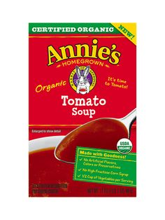 Organic Tomato Soup - Annie's Homegrown