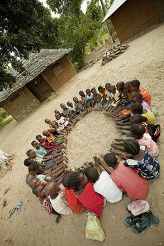 "Human Circle - ""Ubuntu"" - African Philosophy [ùɓúntú] : ""is a Nguni Bantu term (literally, ""human-ness"""") roughly translating to ""human kindness""; in Southern Africa (South Africa and Zimbabwe), it has come to be used as a term for a kind of humanist philosophy, ethic or ideology.."" http://en.wikipedia.org/wiki/Ubuntu_%28philosophy%29 """