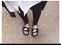 sale retailer 50166 c1330 Women s Benassi JDI Swoosh Slide Sandals from Finish Line