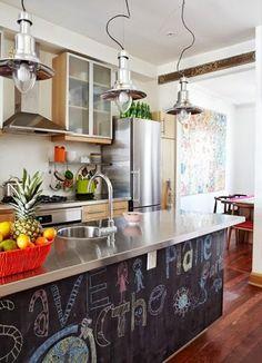 Pintura de pizarra. Ideas originales para decorar tu casa