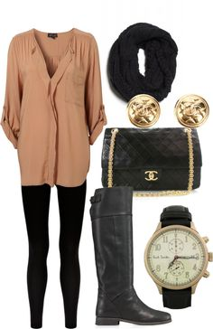 Its all about comfort in the fall but if you can be comfortable and look good its even better! Such a cute outfit