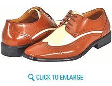 Amali P1056-215 Cognac Ice Mens Dress Shoes