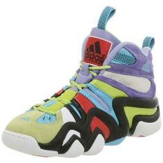 adidas Men's Crazy 8 Basketball Shoe,White/Lt Aqua/Black,10.5 M (Apparel)