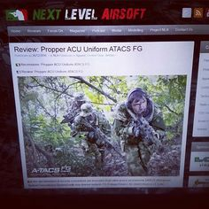 Review coming soon on NLA #atacs #military #propper #airsoft #training #milsim #softair #NextLevelAirsoft #combat #uniform #specialforces