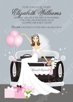e9e7c1ab8df6 These fabulous bridal shower invitations from Doc Milo are sure to set the  tone for a magnificent event. New from Doc Milo!