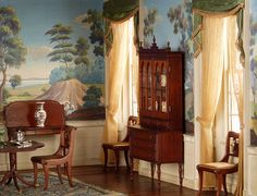 Dollhouse Federal Dining Room
