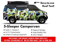 Cheap Campervan 4WD 4x4 Hire Rental Sale North America Cheap Campers, Roof Top Tent, Cooking Equipment, Campervan, Rooftop, 4x4, North America, Printmaking, Canada