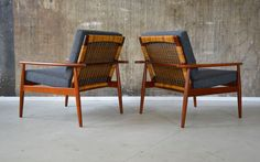 1(2) 60er HANS OLSEN Teak SESSEL rare 60s JUUL KRISTENSEN danish EASY CHAIR 50s in Antiquitäten & Kunst, Design & Stil, 1960-1969 | eBay