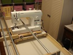 I recently bought the Brother Nouvelle quilting machine and also a quilt frame and have been practicing for the past two weeks machine quilting. Quilting Frames, Quilting Tools, Longarm Quilting, Free Motion Quilting, Quilting Projects, Quilting Designs, Quilting Board, Quilting Ideas, Machine À Quilter