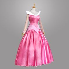 Gorgeous Adult Sleeping Beauty Princess Aurora Fancy Costume Dress US Ship Easy Cosplay Costumes, Fancy Costumes, Cosplay Dress, Costume Dress, Costumes For Women, Rose Costume, Anime Costumes, Adult Costumes, Princess Aurora Costume