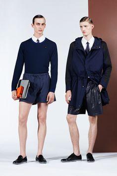 sportswear/tailored. Fendi Spring 2013 Menswear