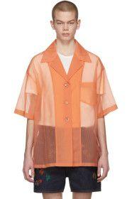 Acne Studios - Orange Relovo S Seer Shirt