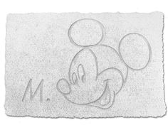 Topolino Disney Mickey Mouse Tappetino Bagno, Accessori Bagno Disney - Disney Mickey Mouse Rug