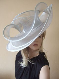 Gwyther Snoxells My Hat Large Hat - Hat Hire - Royal Ascot Hats for Hire at The Racecourse. The only Hat Hire at the Races. Hats viewable online (click pin) for Royal Ascot or other Races, Mother of the Bride, Friends weddings. Facinator Hats, Fascinators, Headpieces, Royal Ascot Hats, Hats For Women, Ladies Hats, Church Hats, Kentucky Derby Hats, Love Hat