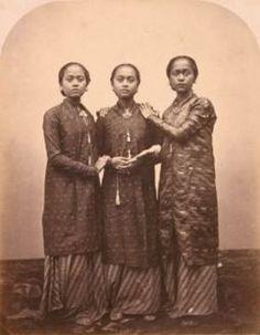 Isodore van Kinsbergen - Dochters van den Sultan van Djokjokarta 1862-1865, Yogyakarta (klik op afbeelding voor meer foto's!)