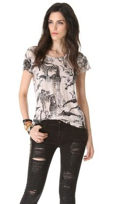 cb44613a54 Madewell Safari Animal Print Linen Top media gallery on Coolspotters. See  photos