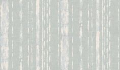 Artisan Stripe (EW15009/725) - Threads Wallpapers - An elegant hand painted, dragged stripe effect wallcovering. Shown here in off white on an aqua background. Other colourways are available. Please request a sample for a true colour match. Paste-the-wall product. Pattern repeat is 61cm.