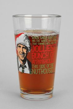 White Elephant Gifts For the Pop Culture Fan: National Lampoon's Christmas Vacation Pint Glass ($8)
