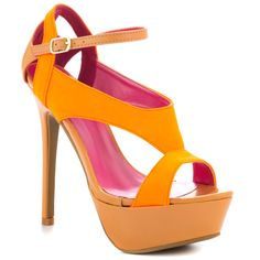 Rules - Neon Orange  Shoe Republic