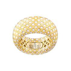 Elegante ANELLO della collezione #Gucci Gioielli #diamantissima